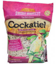 Cockatiel No Sunflower Sweet Harvest 4 lb Case of 6