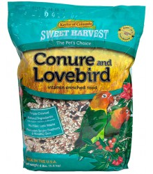 Conure Lovebird Sweet Harvest 4 lb Case of 6