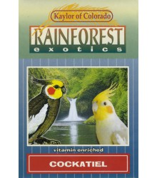Cockatiel Rainforest 4 lb Case of 6