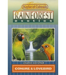 Conure & Lovebird Rainforest 2 lb Case of 6