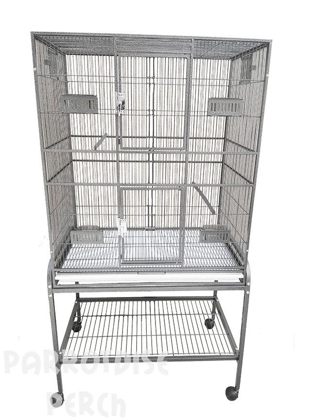 Flight Cage with Double Door & Exterior Access Food Doors