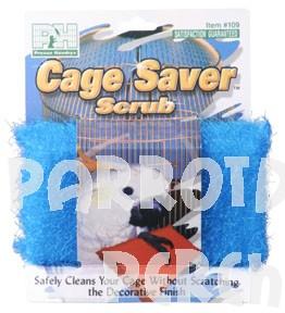 Cage Saver Scrubber