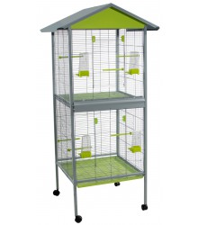Double Aviary Cage
