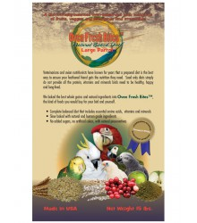 Natural Baked Bird Food Parrot Large 15 lb