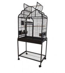 Small Parrot Cage with Victorian Top