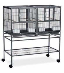 Hampton Deluxe Divided Breeder Cage & Stand