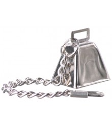 Cow Bell with Chain Medium