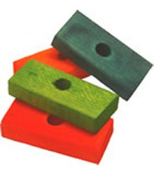 "Wood Blocks 3"" (60)"