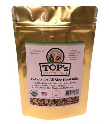 TOP's Parrot Food Pellets for all size Hookbills