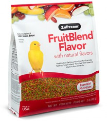 ZuPreem® FruitBlend Extra Small 2 lb