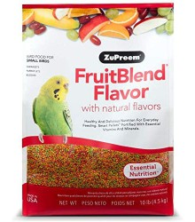 ZuPreem® FruitBlend Parakeet 10 lb