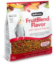 ZuPreem® FruitBlend Medium Parrot 2 lb