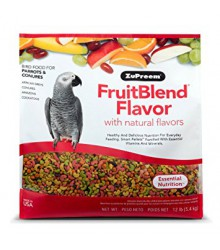 ZuPreem® FruitBlend Medium/Large Parrot 12 lb