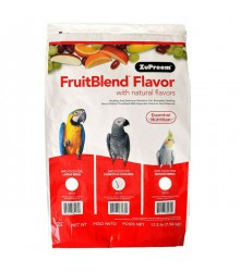 ZuPreem® FruitBlend Medium/Large Parrot 17.5 lb