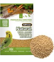 ZuPreem® AvianMaintenance Natural Parakeet 20 lb