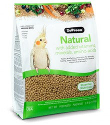 ZuPreem® AvianMaintenance Natural Cockatiel