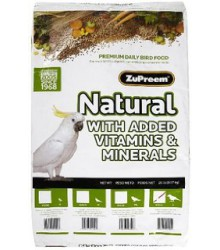 ZuPreem® AvianMaintenance Natural Cockatiel 20 lb